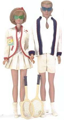 Vintage Barbie Tennis Anyone? #941 (1962-1964)