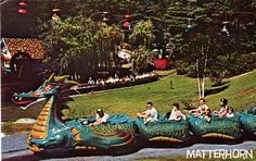Vintage Postcards from Storytown USA Lake George, New York