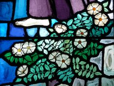 Dog Roses - The Annunciation Window by Paul Quail, 1980. | Flickr - Photo Sharing!