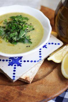Creme de Ervilhas e Hortelã :: Pea and Mint Creamy Soup