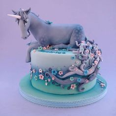 Cute #& Beautiful #Birthday Cakes from #Pinterest