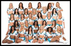 Carolina Panthers | Cheerleaders - TopCats