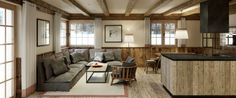 Lech Lodge. Lech am Arlberg, Austria. http://ludwigs.nl/five-gorgeous-last-christmas-ski-chalets/