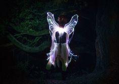 DIY Programmable Fiber Optic Fairy Wings