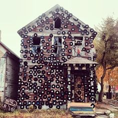 The House of Soul at the Heidelberg project was my favorite. Sadly, it was destroyed by arson in November, 2013.