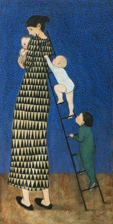 Brian Kershisnik - Official SiteBrian Kershisnik   Painting From Life