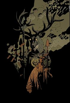576 Best Artmike Mignola Images Mike Mignola Art Comic Book