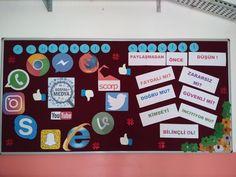 Teknolojinin Doğru Kullanımı ve İnternet Bağımlılığı Internet, Classroom Bulletin Boards, Holidays And Events, Art Education, Bullying, Art For Kids, School, Children, Benefit