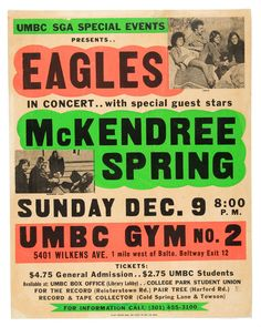 eagles band concert posters - Google Search