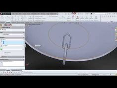 solidworks tutorial ( intersection curve) - YouTube