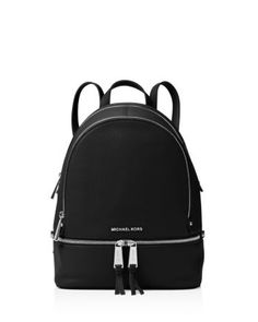 Michael Kors Women Backpack Red Black Leather Rucksack Handbag Shoulder Bag in Clothing, Shoes & Accessories, Women, Women's Bags & Handbags Micheal Kors Backpack, Michael Kors Shoulder Bag, Michael Kors Tote, Handbags Michael Kors, Shoulder Bags, Black Leather Backpack, Black Leather Bags, Chanel Handbags, Fashion Handbags