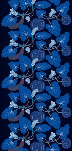 Texturas Y❤B <> Marimekko Design by Erja Hirvi named Kumina Motifs Textiles, Textile Patterns, Textile Prints, Textile Design, Fabric Design, Surface Pattern, Pattern Art, Pattern Design, Pretty Patterns