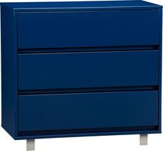 shop navy chest in we love blue sale | CB2. 36w x 18d x 34h. by Mash Studios. on sale for $339.