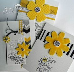 Creative Palette: Black, Yellow and White All Over