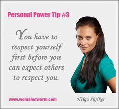 Helga Skriker Personal Power Tips 3