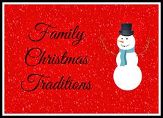 Family Christmas Traditions {Keeping up with the Kiddos}