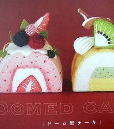 Gâteau fait de feutre de out-of-print Ruko par MeMeCraftwork