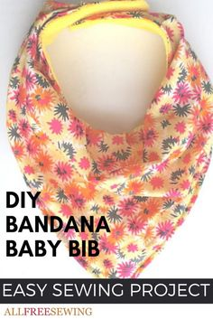 nice This Bandana Bib Tutorial will show you how to make baby bibs from microfleece-backed cotton or cotton jersey. medianet_width = medianet_height = medianet_crid = medianet_versionId = (function() { var isSSL = 'https:' ==.Everyone loves bandana bibs b Baby Boys, Bandana Bib Pattern, Diy Baby Bib Bandana, Baby Bib Tutorial, Baby Sewing Projects, Sewing Tips, Sewing Hacks, Sewing Ideas, Sewing Crafts