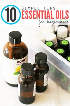 These tips for essential oil tips for beginners is a super helpful must-read! It contains practical ideas on using essential oils safely, proper storage and making them last longer so you're getting the most usage out of the money you spend on these amazing essential oils! :: DontWastetheCrumbs.com