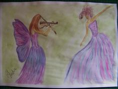 Painting with Derwent Aquatone Aurora Sleeping Beauty, Arts And Crafts, Disney Characters, Pretty, Artist, Blog, Painting, Inspiration, Biblical Inspiration