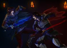 Inheritance: Eragon vs Murtagh by ElizaLento.deviantart.com on @deviantART