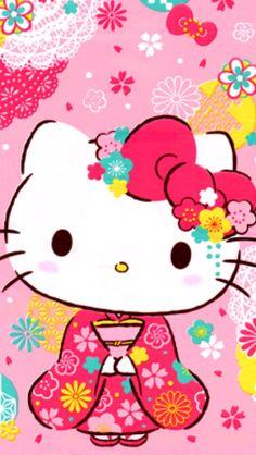 Hello Kitty #kimono ♪(´ε` )