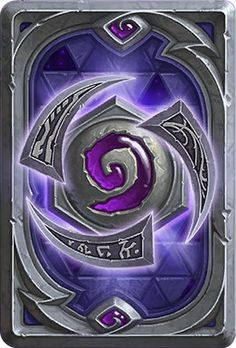 Card Back: Heroes Of The Storm Artist: Blizzard Entertainment