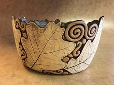 Large Oak Leaf Bowl 11