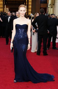 Lesie Mann wearing Roberto Cavalli to the Oscars 2012  See more here:  http://bohemenoir.blogspot.com/2012/02/best-of-red-carpet-gowns-in-february.html