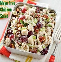 Looking for something refreshing for lunch?  Try this awesome chicken salad. It is loaded with protein, healthy fats, flavor, and is a perfe...