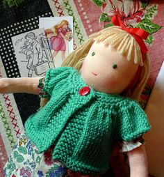 Ellie's doll ( Rebecca's daughter)