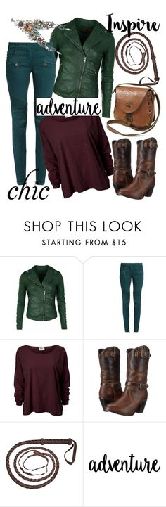 """Pictures and Words"" by april-wilson-nolen ❤ liked on Polyvore featuring Balmain, Dingo and Ayala Bar"