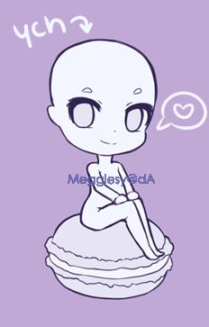 Macaron YCH PageDoll (Closed) by Megglesy