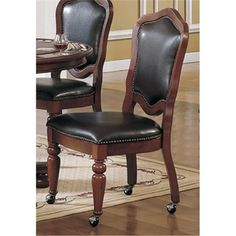 Sunset Trading CR-87148-10 Bellagio Caster Dining Chair   Jet.com