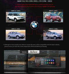 Radio-DVD-BMW-Antigua-serie-E53-X5-Xtrons-PF7353BA-Modelos-Compatibles