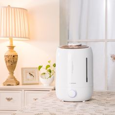 Amazon.com: Ultrasonic Cool Mist Humidifier, Sinopuren 5L Large Capacity Filter Free Humidifiers with Essential Oil Container Anti-bacterial Whisper Quiet and Auto Shut-off for Baby Home Bedroom Office: Home & Kitchen