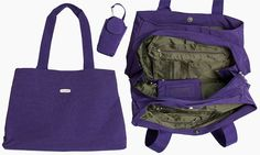 "The ""Carry All"" Purple Bag"