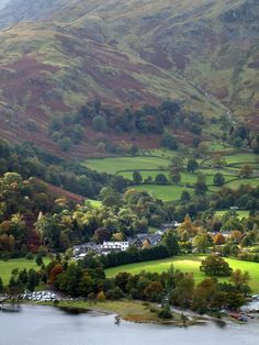 The stunning village of Sandwick, Lancaster, England