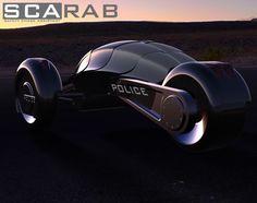 Scarab Electric Police Car Concept