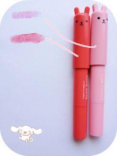 Jasmine blu: Tony moly bunny lip gloss bar's review ♡