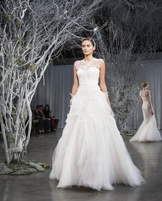 Monique Lhuillier Fall 2013 Bridal Collection from New York Bridal Fashion Week