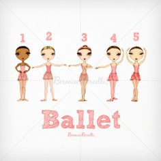 ballet moves for kids | Ballet Positions for Kids | Ballet Papier