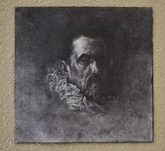 PACHECO Grafito y carboncillo sobre papel. 18 x 17.5 cm. 2016