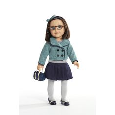 """Journey Girls 18 inch Doll Outfit - Teal Coat with Pleated Skirt - Toys R Us - Toys """"R"""" Us"""