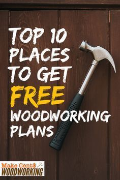 Woodworking Tips Free DIY Woodworking Plans. If you want to do some DIY woodworking projects, you need to have some good plans that won't break the bank. Check out our picks for the best places to get woodworking plans. Woodworking For Kids, Woodworking Projects That Sell, Popular Woodworking, Woodworking Jigs, Diy Wood Projects, Woodworking Furniture, Wood Crafts, Custom Woodworking, Woodworking Basics