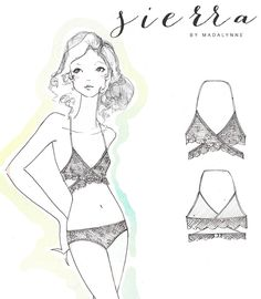 Sierra Free Pattern, Sew Along and Giveaway - Madalynne - The Cool Patternmaking and Sewing Blog