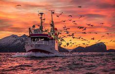 GO FISHING Tromso, Norway fishing boat. Pic: A. Rikarsen