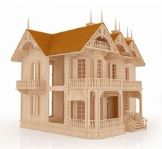 The Victorian Gothic Mansion