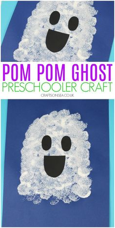 Easy Ghost Craft for Kids Easy Halloween craft for kids - perfect. Handwerk ualp , Easy Ghost Craft for Kids Easy Halloween craft for kids - perfect. Easy Ghost Craft for Kids Easy Halloween craft for . Kids Crafts, Ghost Crafts, Daycare Crafts, Classroom Crafts, Baby Crafts, Toddler Crafts, Projects For Kids, Craft Kids, Kids Diy