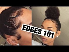 Lazy Hairstyle for Thick, Kinky Curly Natural Hair | How To: Sleek High Puff 2016 | 4a, 4b, 4c - YouTube